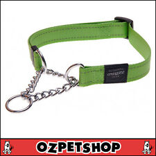 ROGZ Utility Medium 5/8-inch Reflective Snake Obedience Half-check Dog Collar L