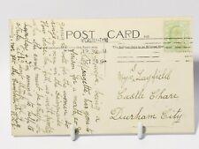 More details for  1908 suffragette prison strike related rp postcard northumberland war memorial