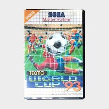 TECMO World Cup 93 for Sega Master System PAL GAME