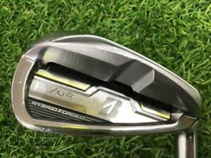 2015 Bridgestone JGR HYBRID FORGED 6-P2 6pc NS ZELOS8 R-flex IRON SET Golf M1940