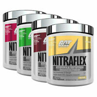 GAT Nitraflex Pre Workout 30 servings 300g- All Flavors Testosterone Booster NEW