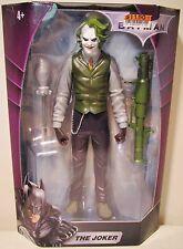 "New 10"" Scale The Dark Knight Batman The Joker Action Figure Toy In Box Mattel"