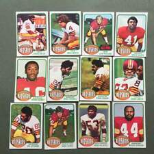 Lot cartes NFL Washington Redskins Topps 1976 1980 1981 Football Américain