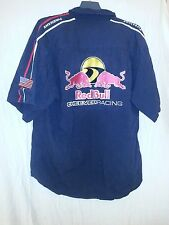 Red Bull Cheever Racing Shirt XL Black Chevrolet Firestone Nascar EUC