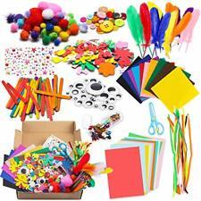 1000Pcs DIY Art Craft Sets Supplies for Kids Toddlers Modern Kid Crafting