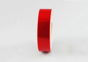 2900 High Intensity Retro-reflective Tape Class 1 - RED - 48mm x 45.7mtr