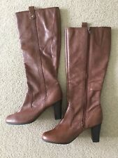 Ladies Leather Boots Size 4.5