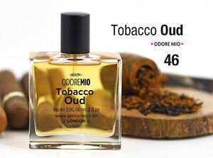 Odore Mio Tobacco Oud Eau de Cologne Natural Perfume Spray for Men and Women