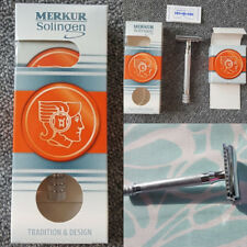 New Merkur German Long Handled Safety Razor 23c 100% Authentic Free Shipping!!