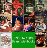 Sears Wishbook Catalogs Disc (1980,1981,1982,1983,1984,1985,1986,1987,1988,1989)