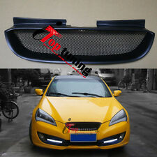 Front Hood Black Mesh Grille Bumper Grill for Hyundai 08 09 10 12 Genesis Coupe