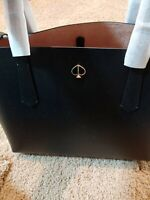 Kate Spade Women's Molly Large Shopper Shoulder Tote In Black Leather New