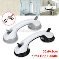 Bathroom Suction Cup Grip Shower Tub Grab Bar Safety Handle Nonslip Armrest
