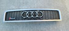 2002 2003 2004 AUDI RS6 HOOD GRILL ASSEMBLY OEM  02 03 04