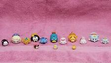 Disney Tsum-Tsum's: Lot of 13; Elsa,Pooh,Stitch,Tigger, White Rabbit, Cinderella