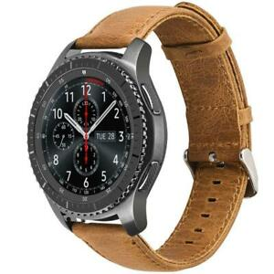 High Quality Genuine Leather Watch Band for Samsung Galaxy Watch 46mm