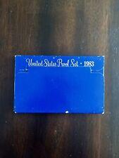 1983 S Proof Set Original Box US Mint 5 Coins