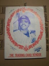 Rare Vintage 1980 Pacific Trading Card Vendor Catalog Baseball Sports souvenirs