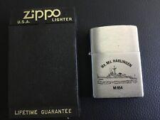 ZIPPO 1997 LIGHTER DUTCH NAVY HMS  (MINESWEEPER) HR.MS HARLINGEN M854