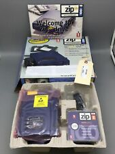 Iomega Zip 100 Plus Z100PLUS Zip Drive Parallel or SCSI Complete H22