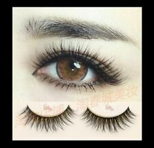 10 Pairs Lady Makeup Eyelashes Natural Dense False Eye Lashes Extension Long
