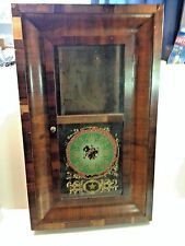 E.N. Welch 30 Hour Time & Strike Ogee Clock Cabinet only for parts or repair