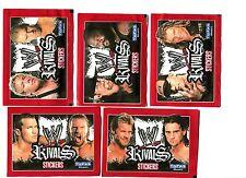 BOOSTER - Topps Sachets de 6 Stickers WW Rivals Neufs en FRANCAIS CATCH 2009