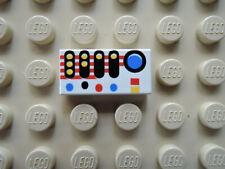 6259 2 mezzo cilindro 2x4x4 LEGO TRASPARENTE BLU DA 6982 6856 6969 6938