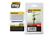 AMMO OF MIG A.MIG-8018 Riggin Super Fine 0,03mm 2 Meters