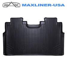 Smartliner 15-18 Ford F-150 SuperCrew Custom Fit Floor Mat Liner 2nd Row Black