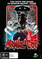Maniac Cop  (DVD, 1988) * Bruce Campbell * Larry Cohen * Monster Pictures*