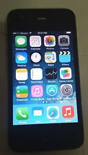 Apple iPhone 4 32GB Black (Verizon) CLEAN IMEI Clean iCloud No Back Glass