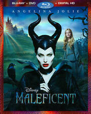 Maleficent (Blu-ray/DVD, 2014, 2-Disc Set, Includes Digital Copy)