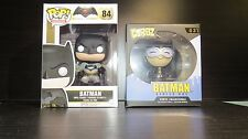 DC Comics Funko POP Batman V Superman: Batman + Catwoman Dorbz  - New Toys Games