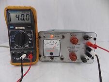 Power Designs Inc Transistorized Power Supply Model 4005r 0 40 Vdc 0 500 Ma