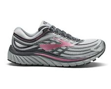Brooks Womens Glycerin 15 Low Top Lace up Running Sneaker Grey Size 8.0