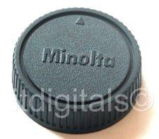 Rear Lens Cap Dust Safety Cover For Minolta MD MC Slr X-700 101 201 202 Srt Lens