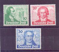 Berlin 1949 - Goethe - MiNr. 61/63 postfrisch** - Michel 320,00 € (397)