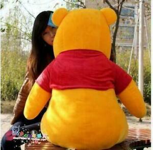 60cm/70cm Winnie The Pooh Bear Stuffed Animal Big Plush Toy Giant Doll Xmas 2021