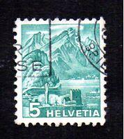 Timbre 1936 -Entre Deux Guerres (recherché)- SUISSE Yvert N°290: oblitéré, en TB