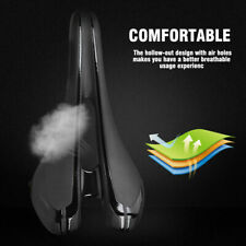 Ultralight Bicycle MTB Saddle Carbon Fiber Bike Cycling Hollow Seat Cushion❤GS