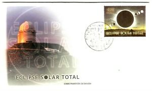 SOLAR ECLIPSE CHILE 2019, FIRST DAY COVER, ONLY 1000 UNITS PRINTED