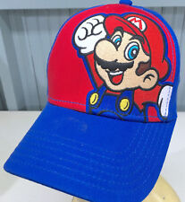 Super Mario Brothers Video Game Nintendo YOUTH Snapback Cap Hat