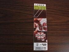 Miami Heat vs Utah Jazz Ticket Stub 12-16-97