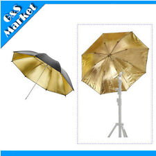 "Photography 33 "" Umbrella / 84cm Black/Gold Lighting Studio Umbrella"