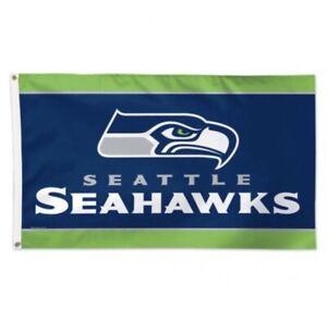 Seattle Seahawks Flag Banner 3x5 Ft NFL Football Super Bowl Sports Team