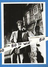 Roger Daltrey Import Black & White Postcard Paris 1984 Shot 4 x 6 Inchs The Who