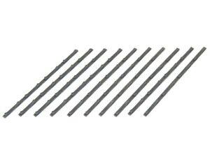 BULKSCENE - UNPAINTED MODEL STEEL COIL FLOOR CHOCKS (x10) OO GAUGE 1/76 - NEW