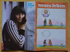 DDR Jugendzeitschrift neues leben nl 08/75 - Diga Dragan + Barbara Thalheim