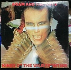 ADAM AND THE ANTS Kings of the Wild Frontier Album Released 1980 Vinyl USA